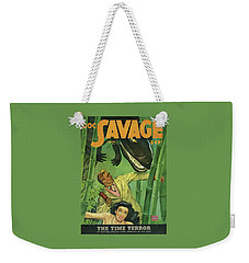 Doc Savage The Time Terror Weekender Tote Bag