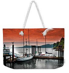 Dock And The Moon Weekender Tote Bag