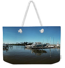 Dock In Good Repair Weekender Tote Bag