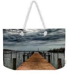 Dock Of The Bay Weekender Tote Bag