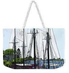 Docked Masts Weekender Tote Bag