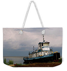Docked On The Shore Weekender Tote Bag