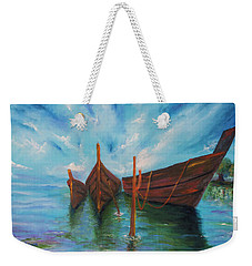Docking Weekender Tote Bag