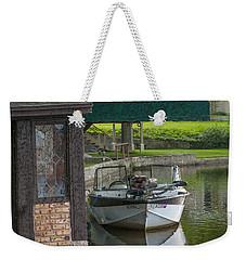 Docking Mayflies Weekender Tote Bag