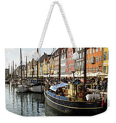 Dockside At Nyhavn Weekender Tote Bag