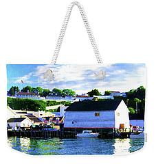 Dockside Weekender Tote Bag by Desiree Paquette