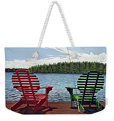 Dockside Weekender Tote Bag by Kenneth M  Kirsch