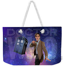 Doctor Who Weekender Tote Bag