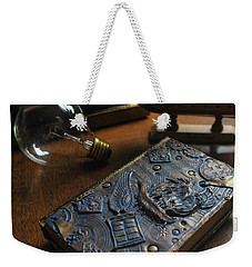 Doctor Who Steampunk Journal  Weekender Tote Bag