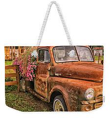 Dodge Flower Pot Weekender Tote Bag