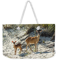 Doe And Fawn Weekender Tote Bag