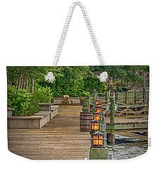 Down By The Boardwalk Weekender Tote Bag