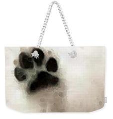 Dog Art - I Paw You Weekender Tote Bag