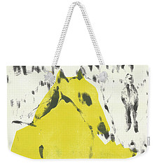 Dog At The Beach - Black Ivory 2 Weekender Tote Bag