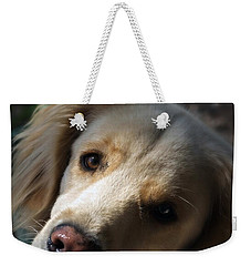 Dog Eyes Weekender Tote Bag