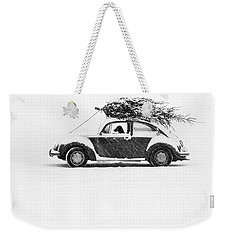 Dog In Car  Weekender Tote Bag
