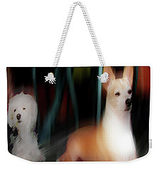 Dog Love Art 5 Weekender Tote Bag