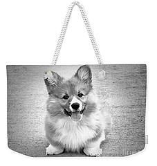 Puppy - Monochrome 6 Weekender Tote Bag