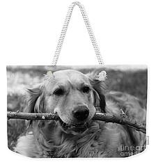 Dog - Monochrome 4 Weekender Tote Bag