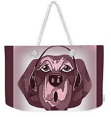 Doggie Singing The Blues Weekender Tote Bag