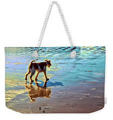 Doggone Beachy Day Weekender Tote Bag