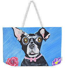 Doggone Delightful Weekender Tote Bag