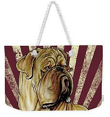 Dogue De Bordeaux Revolution Weekender Tote Bag