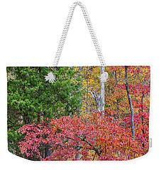 Dogwood And Cedar Weekender Tote Bag