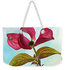 Dogwood Ballet 4 Weekender Tote Bag by Shirley Mitchell