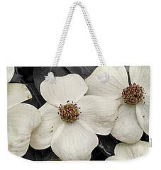 Dogwood Blossoms Weekender Tote Bag