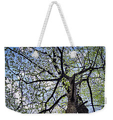 Dogwood Canopy Weekender Tote Bag by Cricket Hackmann
