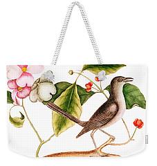 Dogwood  Cornus Florida, And Mocking Bird  Weekender Tote Bag