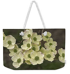 Dogwood Dance In White Weekender Tote Bag