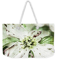Weekender Tote Bag featuring the photograph Dogwood by Jessica Manelis