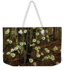 Weekender Tote Bag featuring the photograph Dogwoods In The Spring by Mike Eingle