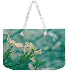 Weekender Tote Bag featuring the photograph Dogwoods by Rima Biswas