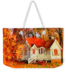 Doll House And Foliage Weekender Tote Bag