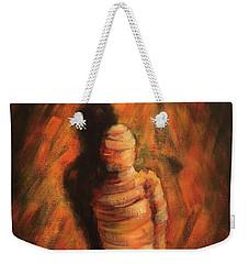 Doll Weekender Tote Bag by Randy Burns
