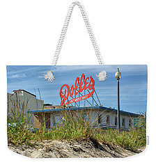 Weekender Tote Bag featuring the photograph Dolles Candyland - Rehoboth Beach Delaware by Brendan Reals