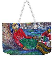 Dolls On The Beach Weekender Tote Bag