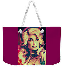 Dolly Parton - Vintage Painting Weekender Tote Bag