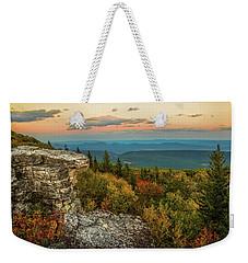 Dolly Sods Autumn Sundown Weekender Tote Bag