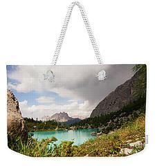 Dolomit View II Weekender Tote Bag by Yuri Santin