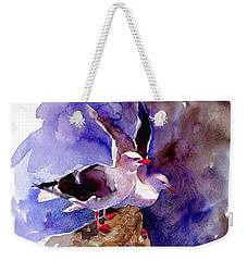 Dolphin Gulls Weekender Tote Bag