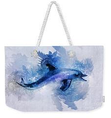 Dolphins Freedom Weekender Tote Bag