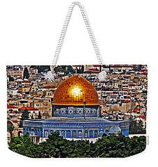 Dome Of The Rock Weekender Tote Bag