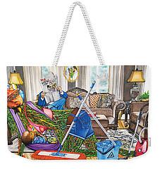 Domestic Abuse Weekender Tote Bag