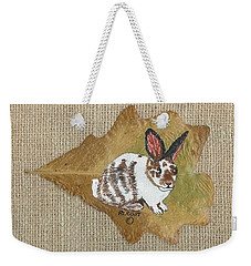domestic Rabbit Weekender Tote Bag by Ralph Root