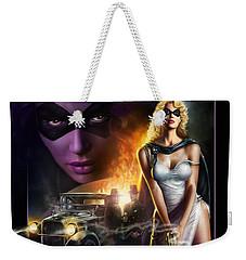 Domino Lady Weekender Tote Bag