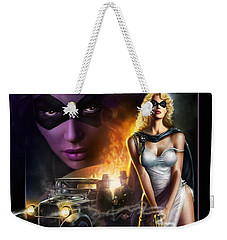 Domino Lady Weekender Tote Bag